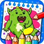 Fantasy – Coloring Book Games for Kids 1.17 MOD Unlimited Money for android