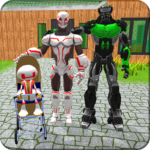 Robotic Family Fun Simulator 1.1 MOD Unlimited Money for android