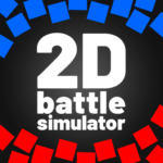 2D Battle Simulator -totally accurate simulator 1.92 MOD Unlimited Money for android