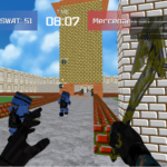 Advanced Blocky Combat SWAT 1.32 MOD Unlimited Money for android