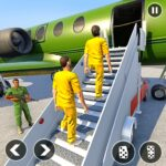 Army Prisoner Transport Truck Plane Crime Games 1.1.12 MOD Unlimited Money for android