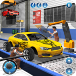 Car Maker Factory Mechanic Sport Car Builder Games 1.13 MOD Unlimited Money for android