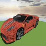 Car build ideas for Minecraft 185 MOD Unlimited Money for android