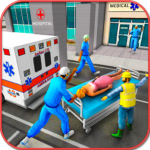 City Ambulance Rescue Simulator Games 1.0 MOD Unlimited Money for android