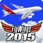 Flight Simulator 2015 Flywings – Paris and France 2.1.3 MOD Unlimited Money for android