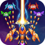 Galaxy Raid Space shooter 4.1.1 MOD Unlimited Money for android