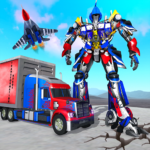 Indian Police Robot Transform Truck 1.10 MOD Unlimited Money for android
