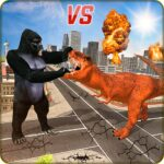 Monster Dino Vs King Kong-City Rampage Simulator 1.0.3 MOD Unlimited Money for android