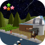 Room Escape Game The starry night and fireflies 1.0.7 MOD Premium Cracked for android