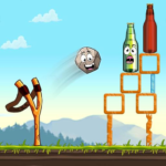 Sling King Shooting Games Bottle Shoot Free Games 2.0.039 MOD Unlimited Money for android