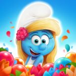 Smurfs Bubble Shooter Story 3.01.010304 MOD Unlimited Money for android