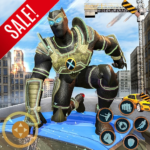 Super Hero Panther Robot Crime City Rescue Mission 13.0.1 MOD Unlimited Money for android