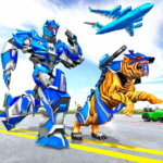 US Police Tiger Robot Game Police Plane Transport 1.1.2 MOD Unlimited Money for android