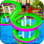 Water Slide Games Simulator 1.1 MOD Unlimited Money for android