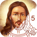 Bible Coloring – Paint by Number Free Bible Games 2.1.14 MOD Unlimited Money for android