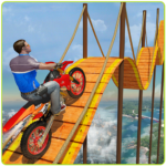 Bike Tricks Trail Stunt Master -Impossible Tracks 9 MOD Unlimited Money for android