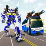 Bus Robot Car Transform War Police Robot games 3.0 MOD Unlimited Money for android