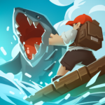 Epic Raft Fighting Zombie Shark Survival 0.7.0 MOD Unlimited Money for android