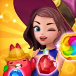 Jewel Witch – Best Funny Three Match Puzzle Game 1.7.1 MOD Unlimited Money for android