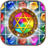 Jewels Magic Kingdom Match-3 puzzle 1.1.4 MOD Unlimited Money for android