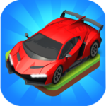 Merge Car game free idle tycoon 1.1.06 MOD Unlimited Money for android