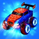 Merge Truck Monster Truck Evolution Merger game 2.0.1 MOD Unlimited Money for android