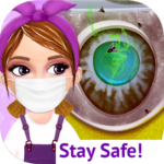 Messy House Cleanup Girls Home Cleaning Activities 7.0.1 MOD Unlimited Money for android