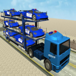 Police Car Transporter Simulator Truck Driving 3d 2.6 MOD Unlimited Money for android