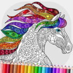 Relaxing Adult Coloring Book 2.3 MOD Unlimited Money for android