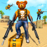 Teddy Bear Gun Strike Game Counter Shooting Games 1.8 MOD Unlimited Money for android