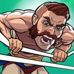 The Muscle Hustle Slingshot Wrestling Game 1.27.875 MOD Unlimited Money for android