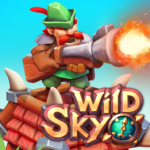 Wild Sky TD Tower Defense Legends in Sky Kingdom 1.27.9 MOD Unlimited Money for android