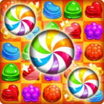 Candy Amuse Match-3 puzzle 1.8.2 MOD Unlimited Money for android