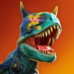 Dino Squad TPS Dinosaur Shooter 0.9.1 MOD Unlimited Money for android