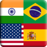 Flags Quiz Gallery Quiz flags name and color Flag 1.0.176 MOD Unlimited Money for android