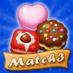 Sweet Macaron Match 3 1.1.7 MOD Unlimited Money for android