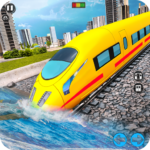 Underwater Bullet Train Simulator Train Games 1.6.0 MOD Unlimited Money for android