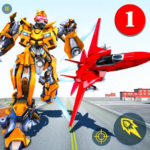 Air Robot Game – Flying Robot Transforming Plane 2.2 MOD Unlimited Money for android