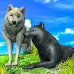 Arctic Wolf Family Simulator Wildlife Games 17 MOD Unlimited Money for android