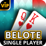 Belote Offline – Single Player Card Game 2.0.32 MOD Unlimited Money for android