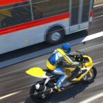 Bike VS Bus Free Racing Games New Bike Race Game 10.2 MOD Unlimited Money for android