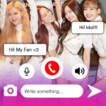 Black PinK Messenger Chat Call Prank 18 MOD Unlimited Money for android