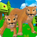 Cougar Simulator Big Cat Family Game 1.045 MOD Unlimited Money for android