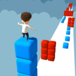 Cube Stacker Surfer 3D – Run Free Cube Jumper Game 1.8 MOD Unlimited Money for android