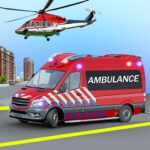 Heli Ambulance Simulator 2020 3D Flying car games 1.12 MOD Unlimited Money for android