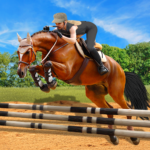 Horse Riding Simulator 3D Jockey Mobile Game 1.1 MOD Unlimited Money for android