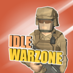 Idle Warzone 3d Military Game – Army Tycoon 1.1 MOD Unlimited Money for android