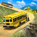 Offroad School Bus Driving Flying Bus Games 2020 1.35 MOD Unlimited Money for android
