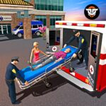 Police Ambulance Rescue Driving 911 Emergency 1.0.2 MOD Unlimited Money for android