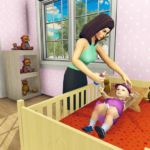 Real Mother Simulator 3D – Baby Care Games 2020 1.0.1 MOD Unlimited Money for android